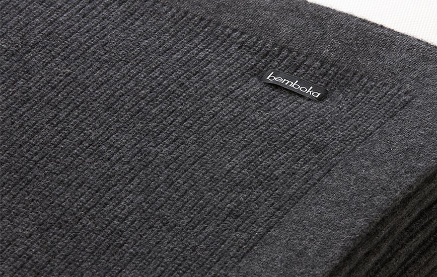 Bemboka pure Italian Cashmere throw