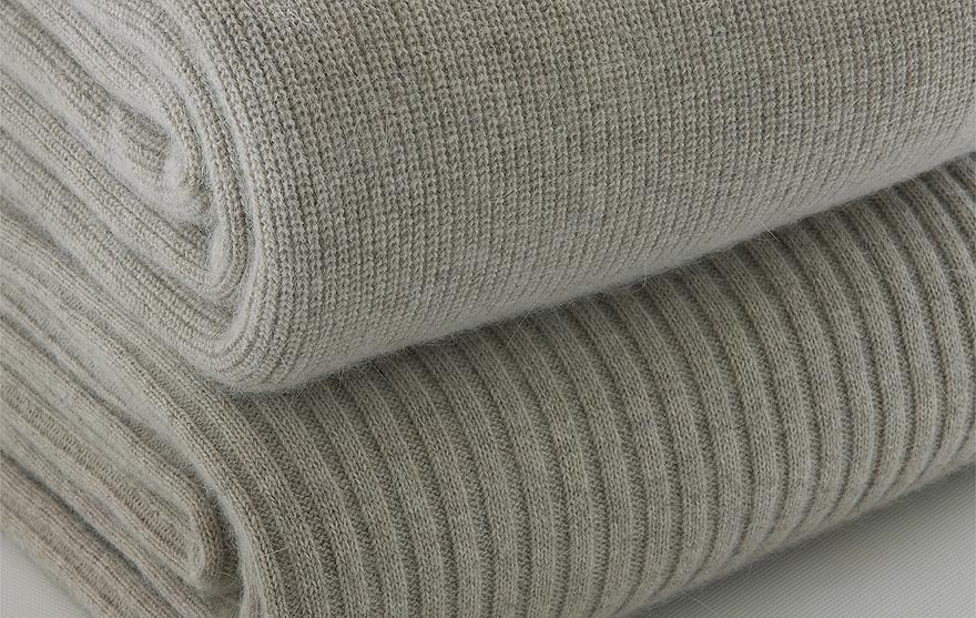 angora and superfine merino wool blankets