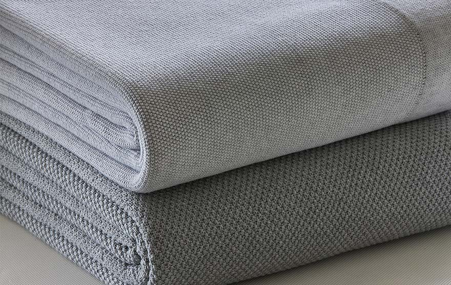 pure soft combed cotton blankets