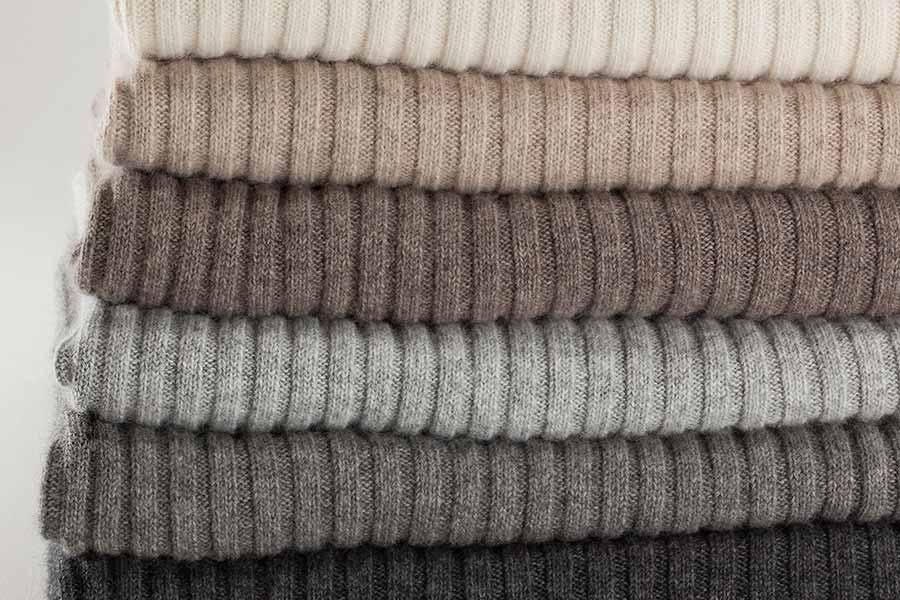 wide rib knit