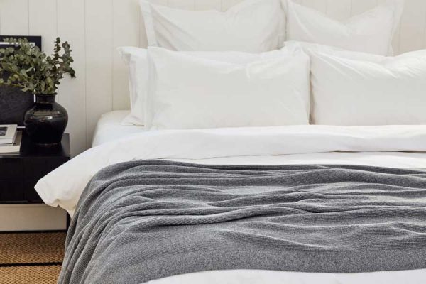 rib knit in marl grey colour