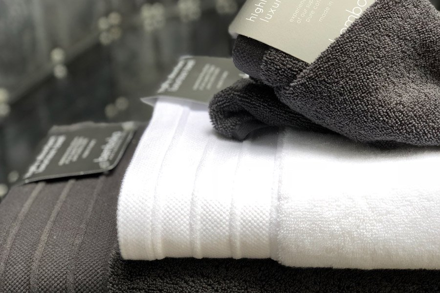 luxe bath towels