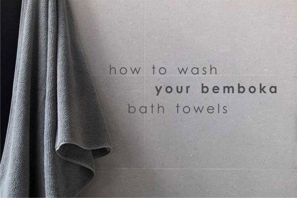 Banner - how to wash your towels