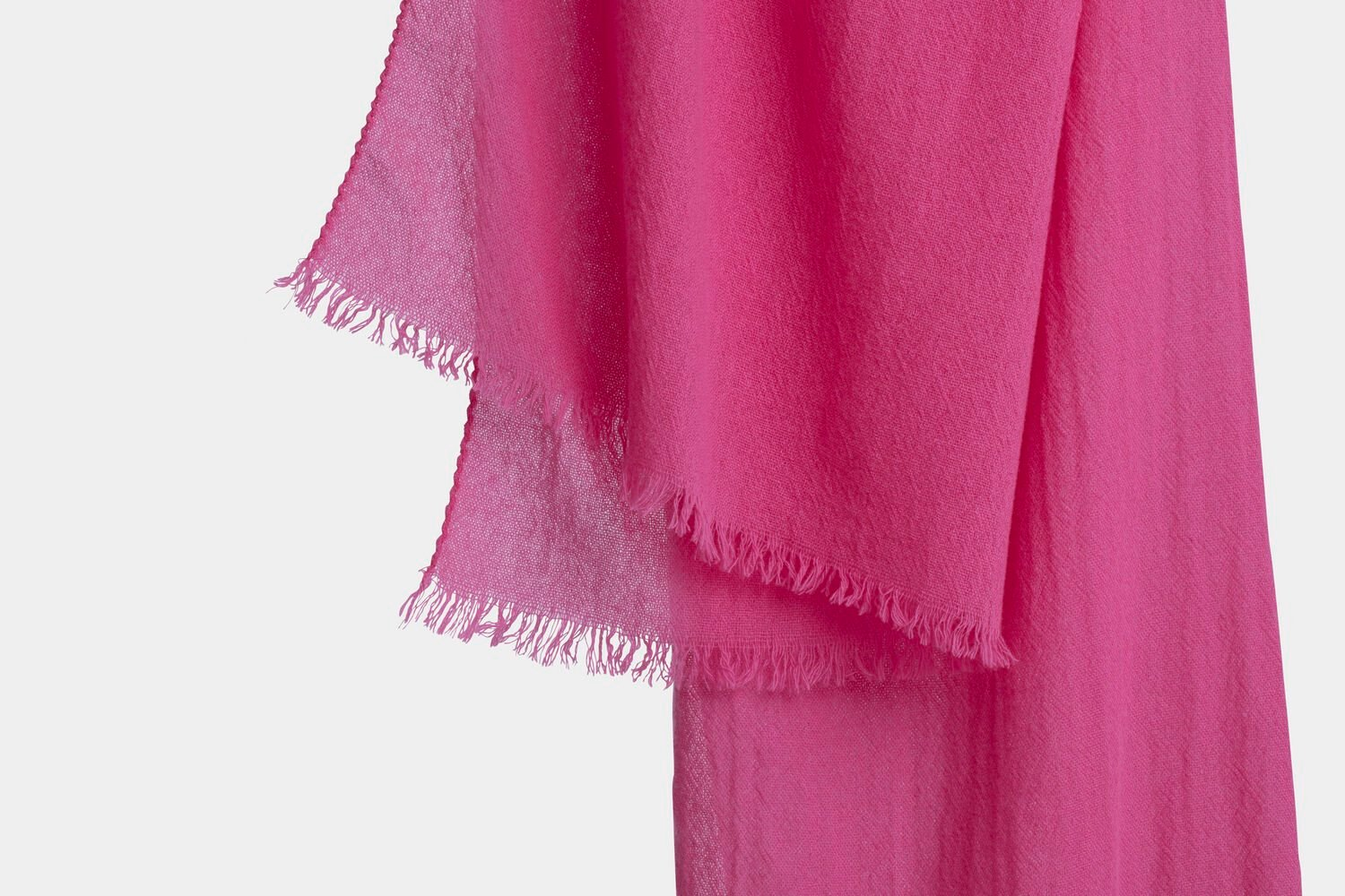 italian cashmere scarf in pink