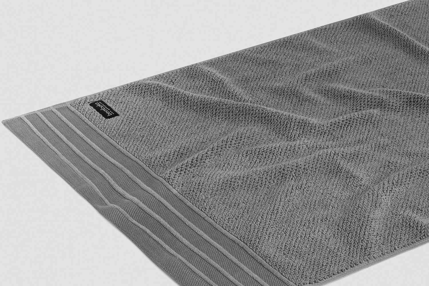 jacquard-hand towels in grey colour