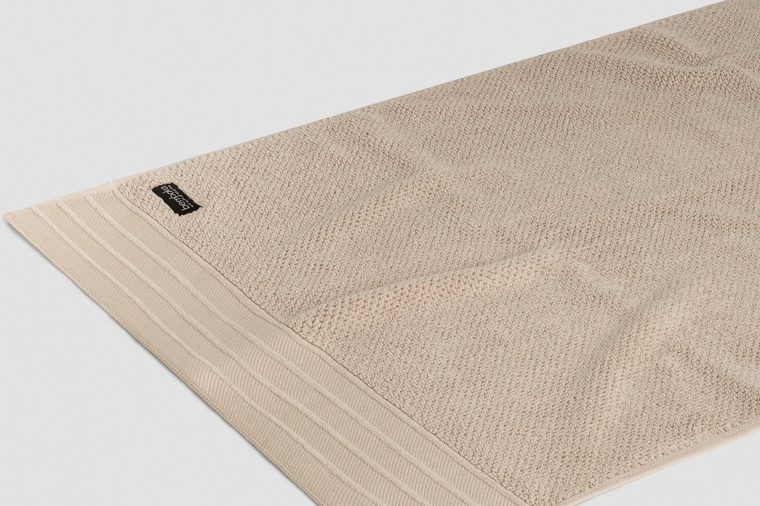 jacquard-hand towels in wheat colour