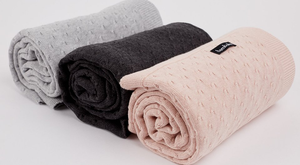 Baby Cot Blankets knot