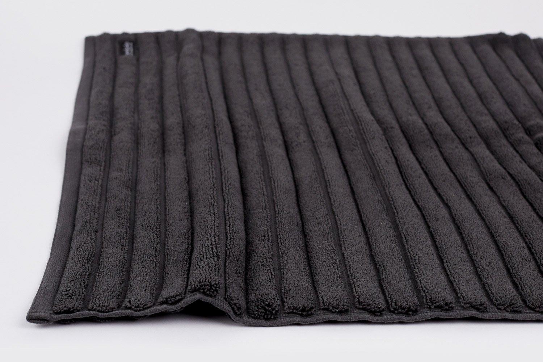 bath mat in charcoal