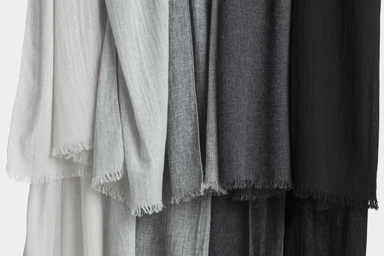 italian cashmere scarves -shades