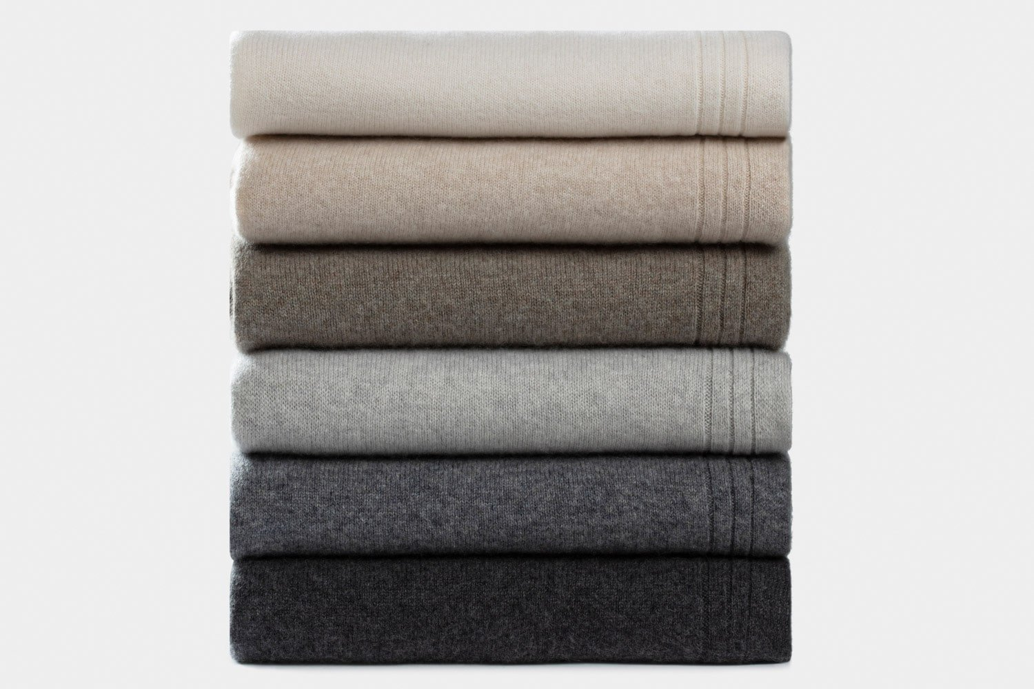 italian cashmere jersey throws