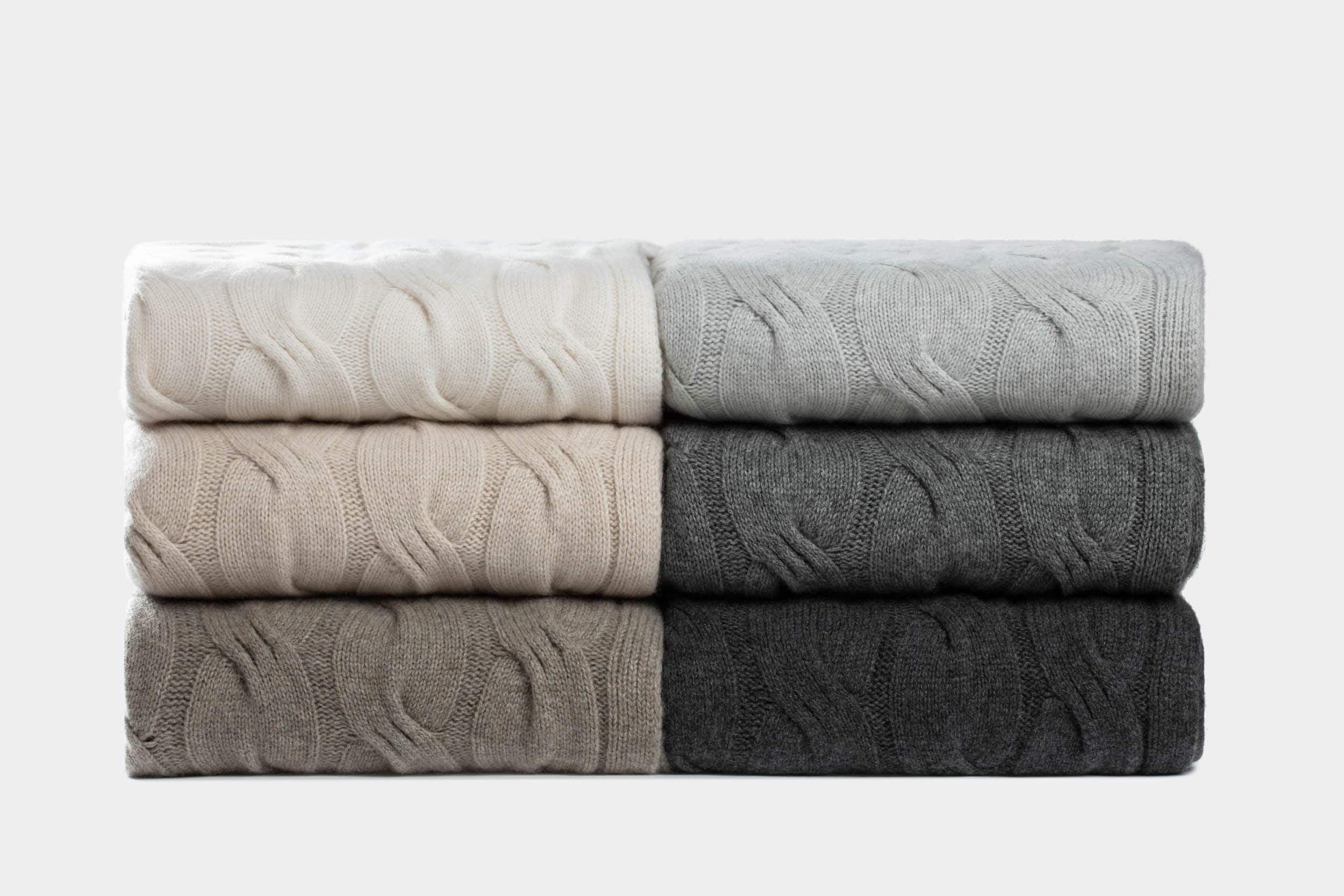 italian cashmere blankets and throws