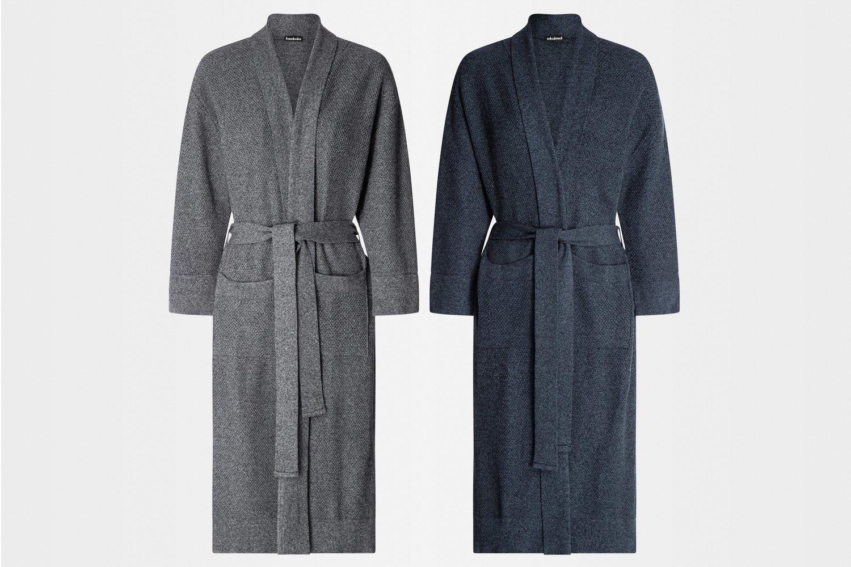 knitted bathrobes