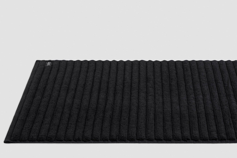 luxury turkish bath mats in black colour