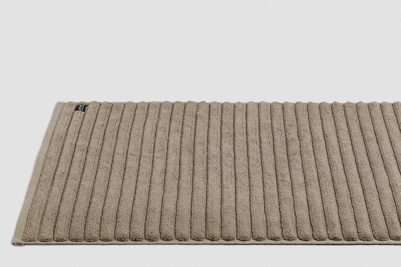 luxury turkish bath mats in mocha colour