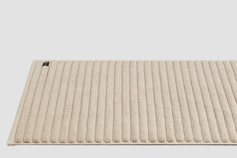 luxury turkish bath mats in wheat colour