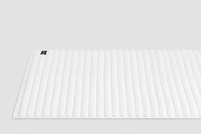 luxury turkish bath mats in white colour